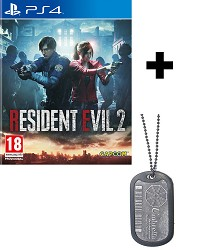 Resident Evil 2 Remake uncut + Umbrella Dog Tag (PS4)