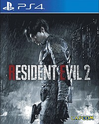 Resident Evil 2 Remake Limited Lenticular Edition uncut  - Cover beschädigt (PS4)