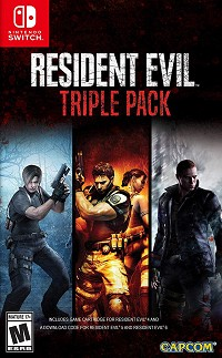 Resident Evil Triple Pack Limited US Edition uncut (Nintendo Switch)