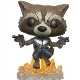 Rocket Guardians of the Galaxy 2 POP! Vinyl Figur (10 cm)