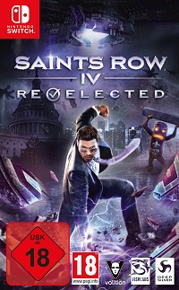 Saints Row 4 Re-elected Limited Presidential Edition uncut (Nintendo Switch)
