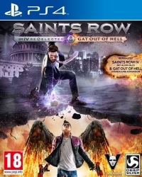 Saints Row 4 Re-elected AT uncut inkl. Gat Out of Hell DLC (PS4)