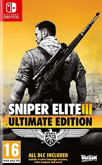 Sniper Elite 3 Ultimate Edition uncut inkl. 9 Bonus DLCs (Nintendo Switch)