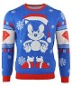 Sonic the Hedgehog Sonic Gem Xmas Pullover