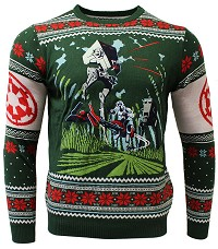 Star Wars Battle of Endor Xmas Pullover (L) (Merchandise)