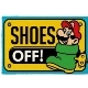 Super Mario Shoes Off Fußmatte (Merchandise)