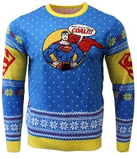 Superman Xmas Pullover (XL) (Merchandise)