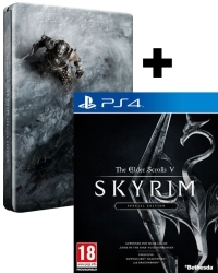 The Elder Scrolls V: Skyrim Special Limited D1 Steelbook Edition uncut (PS4)