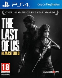The Last of Us Remastered PEGI (PS4)