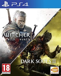 The Witcher 3 Wild Hunt + Dark Souls III & Compilation [uncut Edition] - Cover beschädigt (PS4)