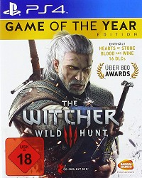 The Witcher 3: Wild Hunt GOTY uncut (USK) (PS4)