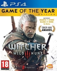 The Witcher 3: Wild Hunt PEGI GOTY uncut Edition (PS4)