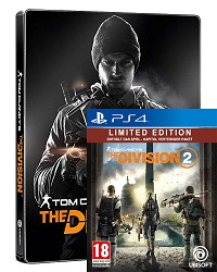 Tom Clancys The Division 2 Limited Steelbook Edition uncut (PS4)