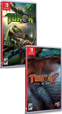 Turok 1 + 2 Limited Edtion uncut (2500 Stk. weltweit) (Nintendo Switch)
