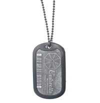 Resident Evil Umbrella Corporation Dog Tag