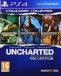 Uncharted: The Nathan Drake Collection 1-3 AT PEGI uncut - Erstauflage (PS4)