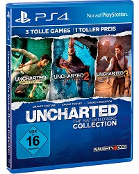 Uncharted: The Nathan Drake Collection 1-3 USK Bonus uncut - Erstauflage (PS4)