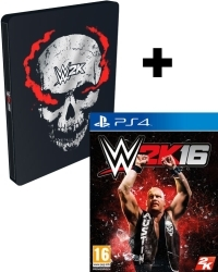 WWE 2K16 Steelbook Edition AT uncut (PS4)