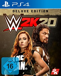 WWE 2K20 Deluxe Edition inkl. Bonus DLC (PS4)