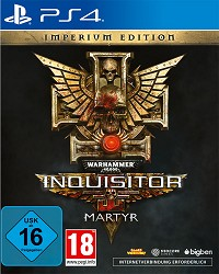 Warhammer 40.000: Inquisitor - Martyr Imperium Steelbook Edition - Cover beschädigt (PS4)