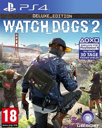 Watch Dogs 2 Deluxe uncut Edition (PS4)