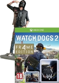 Watch Dogs 2 Limited WRENCH FR4ME Edition uncut inkl. Figur (24 cm) (Xbox One)