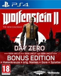 Wolfenstein II: The New Colossus Special Edition EU uncut + Symbolik (PS4)