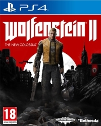 Wolfenstein II: The New Colossus Standard Edition EU uncut - Cover beschädigt (PS4)