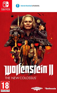 Wolfenstein II: The New Colossus AT PEGI (Nintendo Switch)