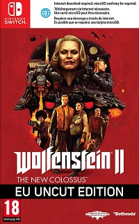 Wolfenstein II: The New Colossus EU uncut (Nintendo Switch)