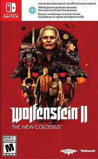 Wolfenstein II: The New Colossus US uncut (Nintendo Switch)