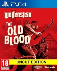 Wolfenstein: The Old Blood EU uncut + Nazi Zombie Mode - Cover beschädigt (PS4)