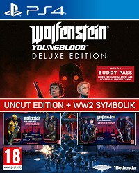 Wolfenstein: Youngblood EU Legacy Deluxe Edition uncut inkl. WW2 Symbolik + 10 DLCs (PS4)