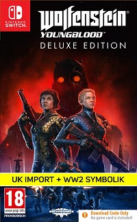 Wolfenstein: Youngblood UK Import Deluxe Edition uncut (Nintendo Switch)
