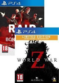 World War Z + RAID: World War II KOOP-Bundle uncut (PS4)