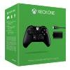 Xbox One Black Wireless Controller inkl. Play & Charge Kit (Xbox One)