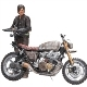 The Walking Dead Daryl Dixon Deluxe Figur (13 cm)