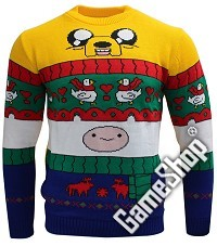 Adventure Time Finn & Jake Xmas Pullover (XL) (Merchandise)