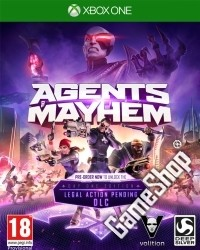 Agents of Mayhem Day One Edition uncut feat. Johnny Gat + 6 DLCs (Xbox One)