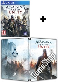 Assassins Creed 5: Unity EU Limited Steelbook uncut inkl. Bonus DLC Doublepack