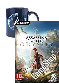 Assassins Creed: Odyssey AT Day 1 Edition + Animus Crest Tasse (PC)