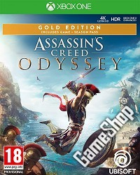 Assassins Creed: Odyssey Gold Edition uncut inkl. Bonus (Xbox One)