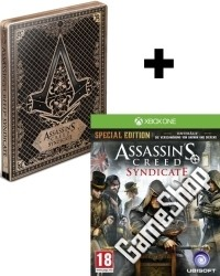 Assassins Creed: Syndicate Special Steelbook Edition AT uncut inkl. Bonus Mission + Meisterassassinen DLC