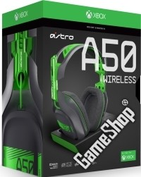 Astro Gaming A50 (2016/GEN3) Wireless Dolby 7.1 Headset Black/Green inkl. MixAmp Xbox One, PC, MAC (Xbox One)