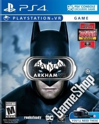 Batman: Arkham VR US uncut (PS4)