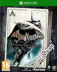 Batman: Return to Arkham uncut