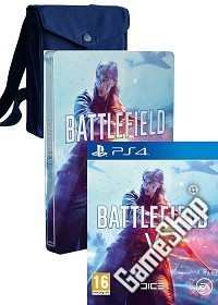 Battlefield 5 AT Limited Steelbook Fan Bag Edition uncut + 3 Preorder Boni (PS4)