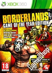 Borderlands Game Of The Year indizierte classic uncut Edition (Xbox360)