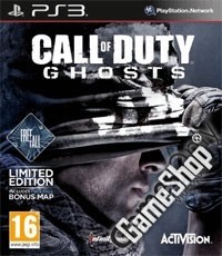 Call of Duty: Ghosts Limited UK D1 Bonus Edition uncut inkl. Free Fall DLC