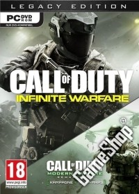 Call of Duty: Infinite Warfare AT Limited Legacy Zombie Edition uncut inkl. Bonus DLC